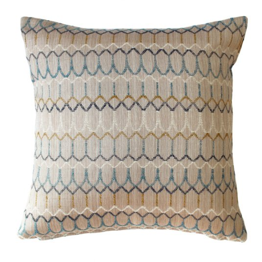 Belfield Carnival Teal 43cm Cushion