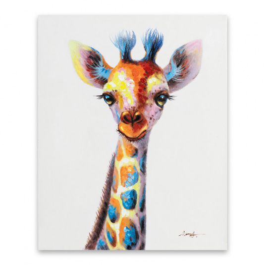 Small Giraffe Canvas