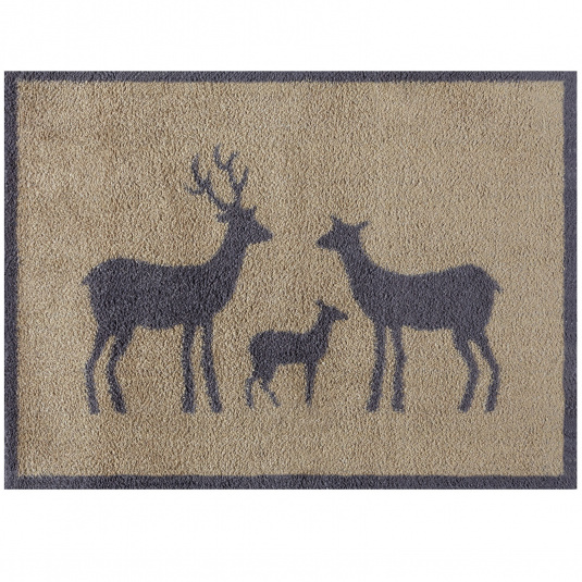 Turtle Mat Historic Royal Palaces Stag Family Floor Mat