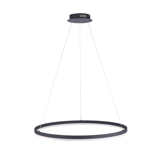 Anthracite Large Switchdim Ring Pendant Light