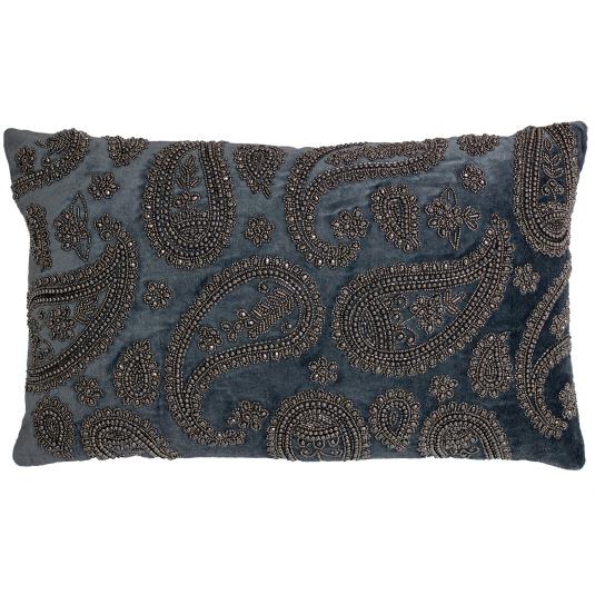 Riva Paoletti Cochin Boudoir Cushion in Denim