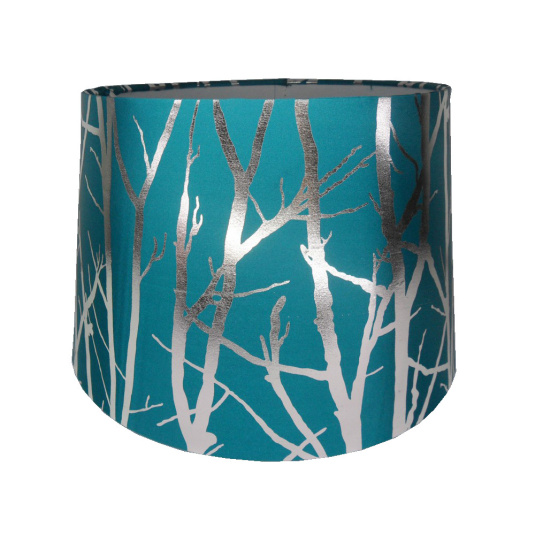 HU Home Tree Pendant Light Shade in Teal