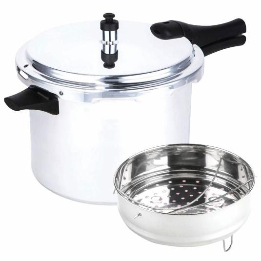 Prestige 8 Litre Aluminium Pressure Cooker With Accessories