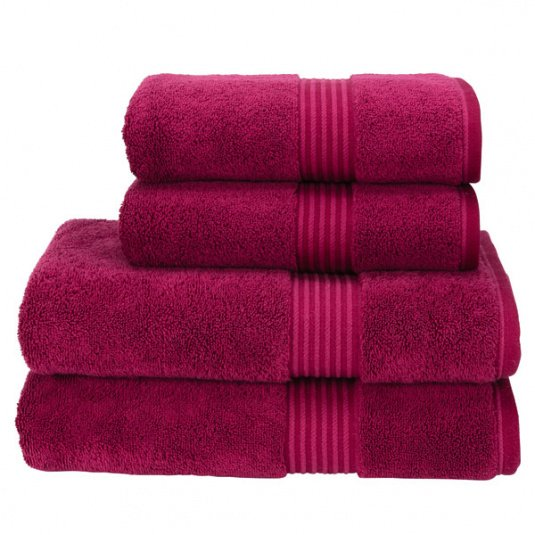 Christy Supreme Hygro Raspberry Towel Collection