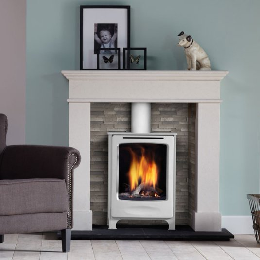 DRU Global Beau Gas Stove in Ivory