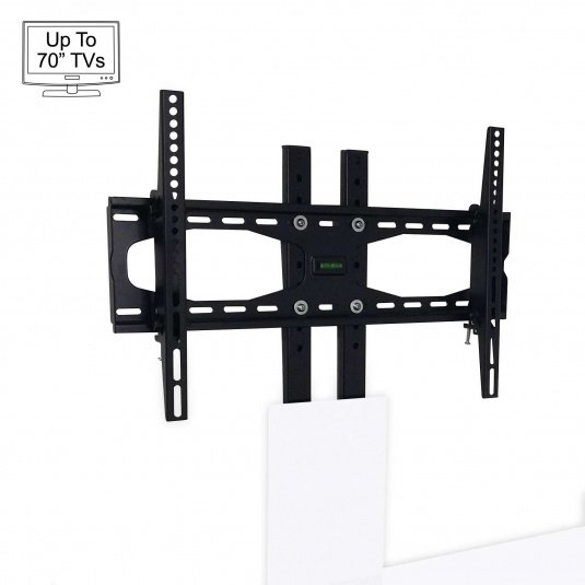 """Invictus White Bracket TV Stand for up to 70"""" TVs"""
