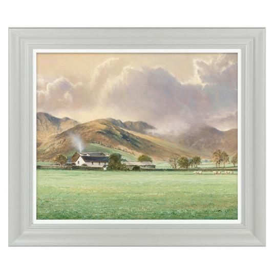 Hillside Cottage I By Duncan P Framed Picture