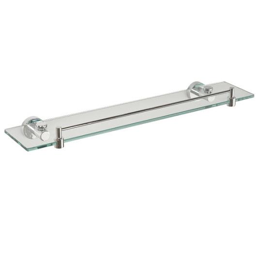 Miller Bond Glass Shelf With Rail