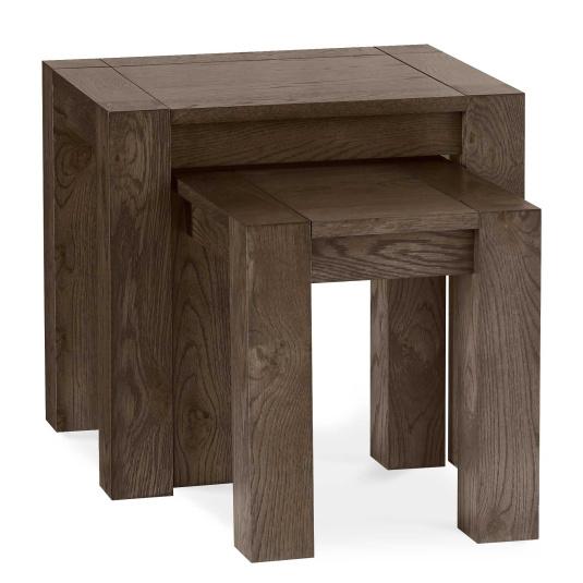Hennessey Dark Oak Nest of Tables