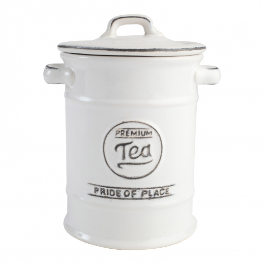 T&G Pride of Place White Tea Jar
