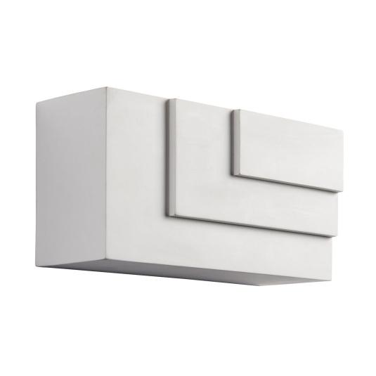 Ripple 1 Light Cube Wall Light