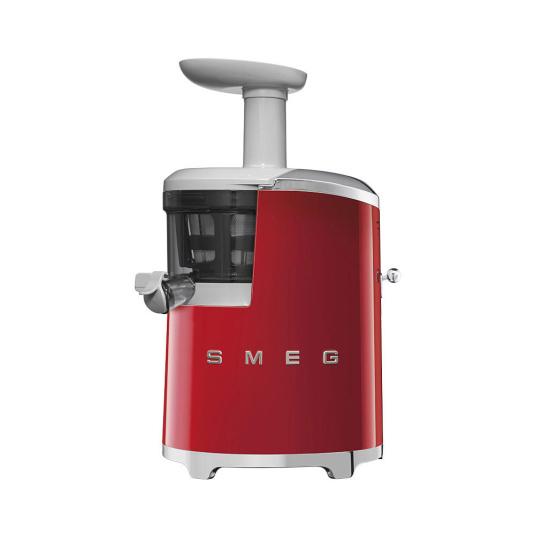 Smeg 50's Retro Style Red Slow Juicer