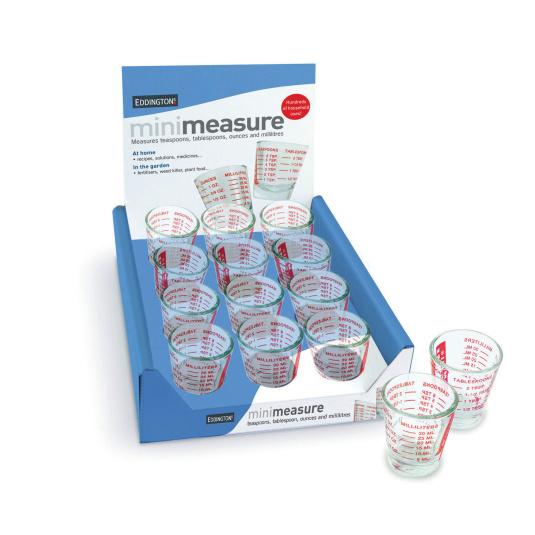 Eddingtons Mini Red Measuring Glass