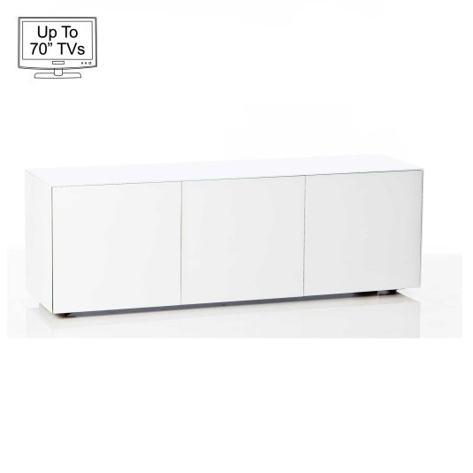 """Invictus White TV Stand for up to 70"""" TVs"""