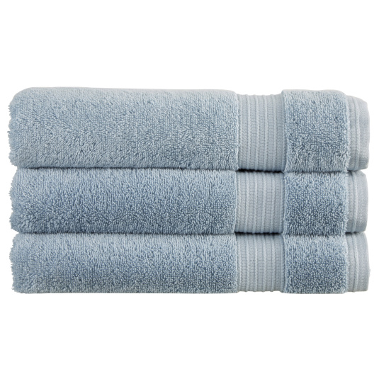 Christy Sanctuary Soft Blue Bath Sheet