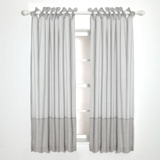Mamas & Papas Welcome to the World Grey Curtains