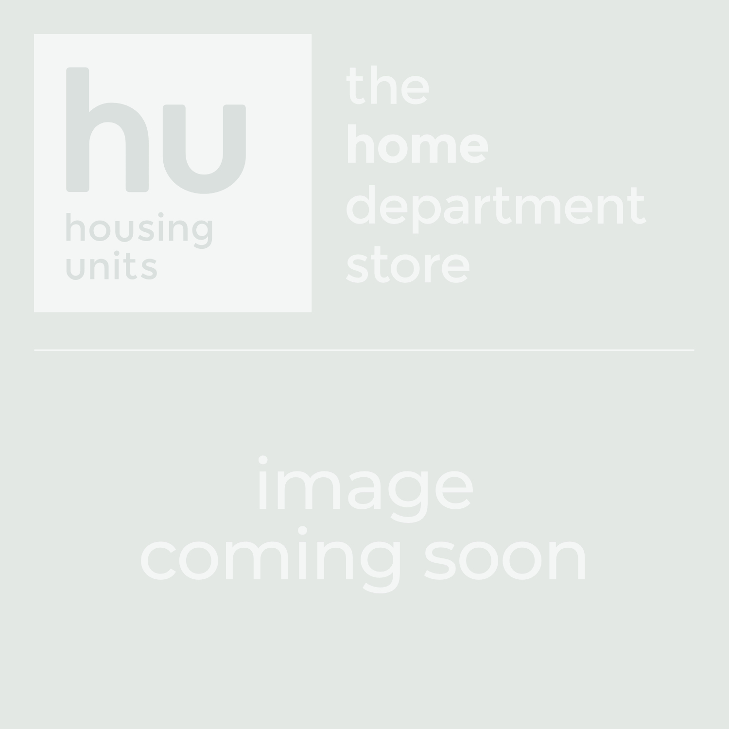 Carusso Blue Fabric Cuddler Sofa - Front | Housing Units