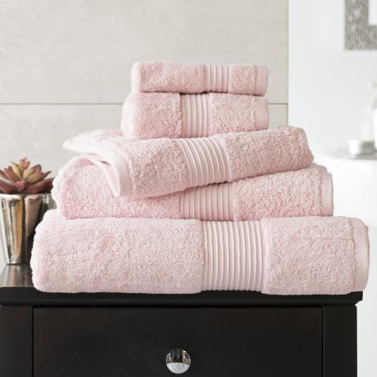 Bliss Light Pink Hand Towel