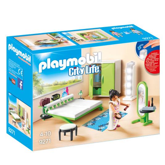 Playmobil City Life Bedroom Set