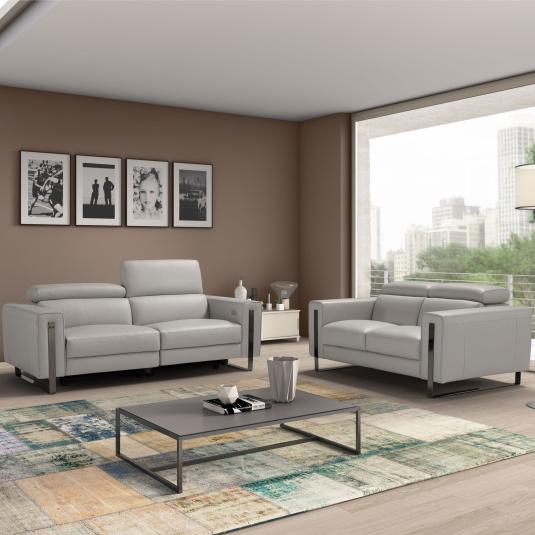 Bellagio Leather Sofa Collection