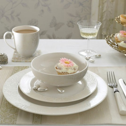 Denby Monsoon Lucille Gold Tableware Collection
