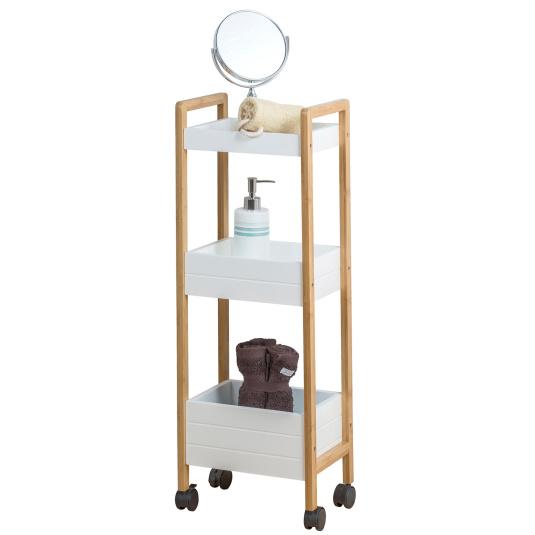 Showerdrape Akita Bathroom Storage Trolley