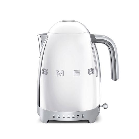 Smeg 50's Retro Style Silver Temperature Control Kettle