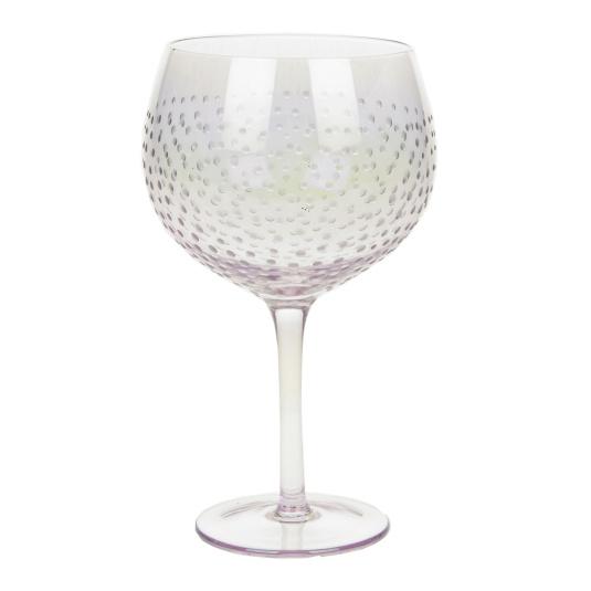Silver Lustre Gin Copa Glass