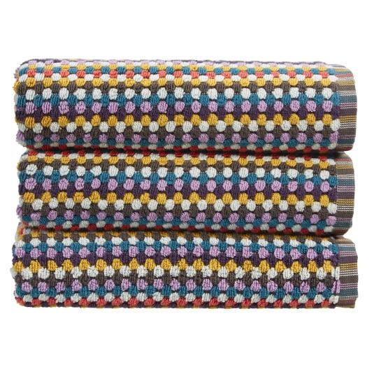 Christy Carnaby Stripe Multi Bath Towel