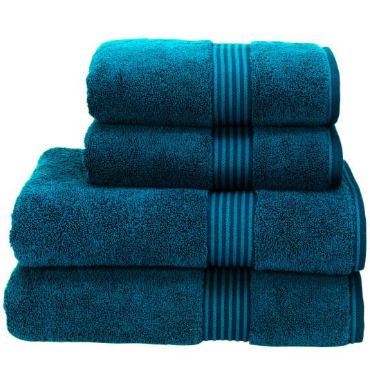 Christy Supreme Hygro Kingfisher Towel Collection