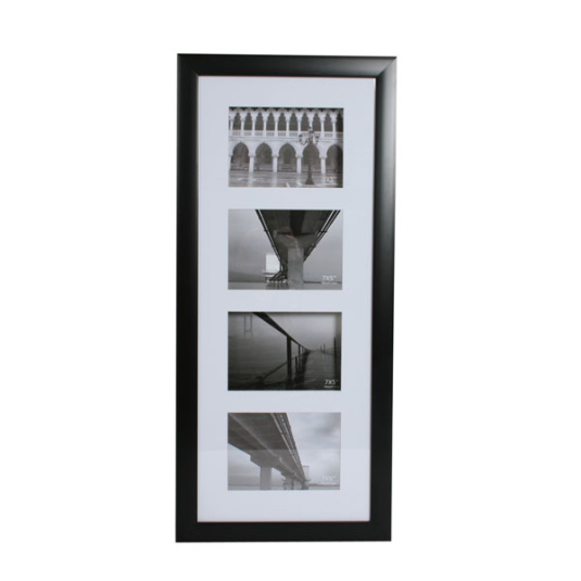 Four Opening Aperture Photo Frame