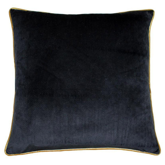Riva Paoletti Meridian Black and Gold Cushion | Housing Units