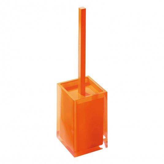 Rainbow Orange Toilet Brush Holder
