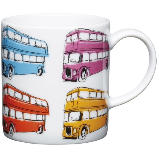 London Bus Porcelain Espresso Cup