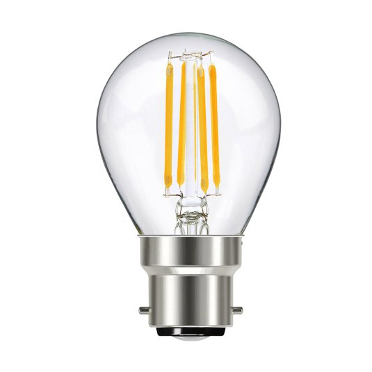Supacell BC B22 8W GLS LED Filament Clear Light Bulb