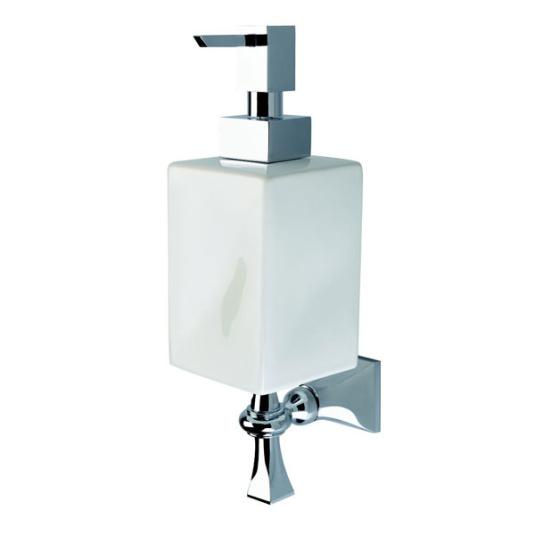 Imperial Highgate Chrome and White Soap Dispenser
