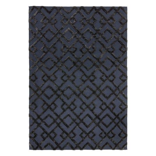 Dixon Black Rug Collection