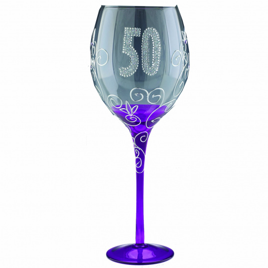 Clear Wine Glass - 50