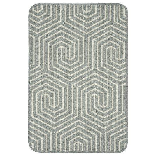 Mira Grey and Cream Mat