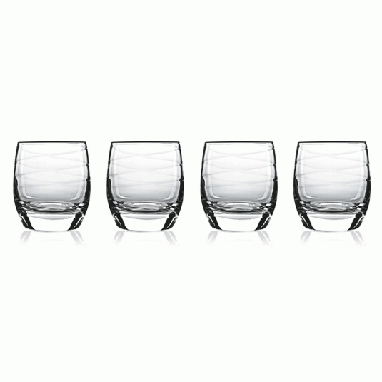 Luigi Bormoli Set of 4 Romantica Tumblers