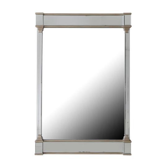 Versailles Champagne Mirror Finish Wall Mirror