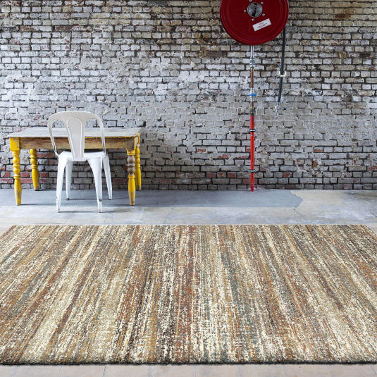 Mehari Brown & Cream 160cm x 230cm Rug
