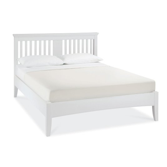 Henley White Double Bed Frame
