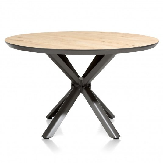 Sonata Round 130cm Dining Table Front View