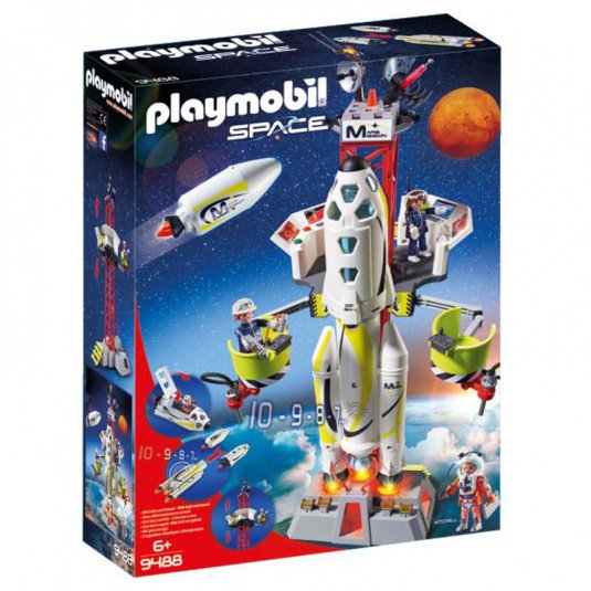 Playmobil Mission Rocket with Launch Site Play Set