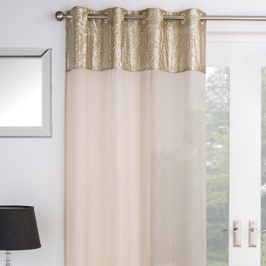 Empire Gold Voile Panel Collection
