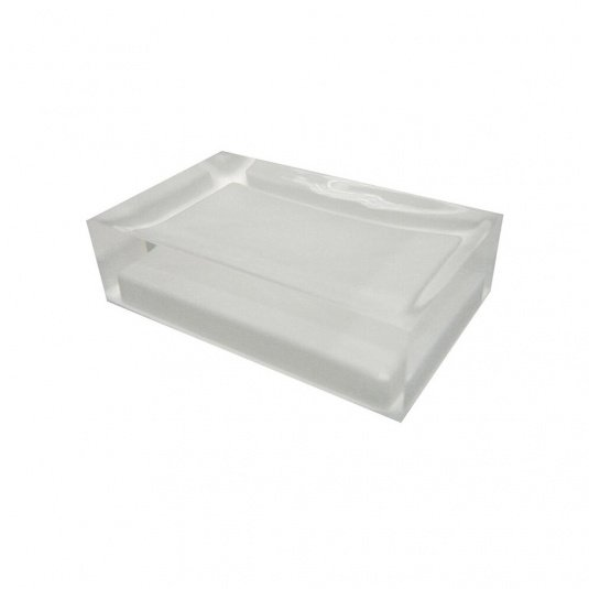 Rainbow White Soap Dish