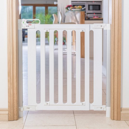 Fred Screw Fit White Stair Gate