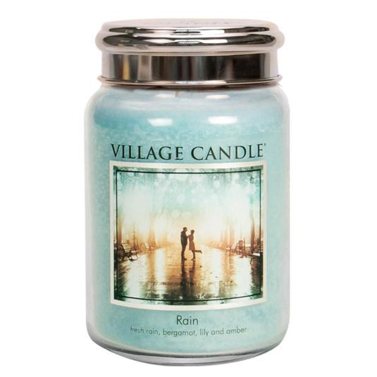 Village Candle Rain Large Jar