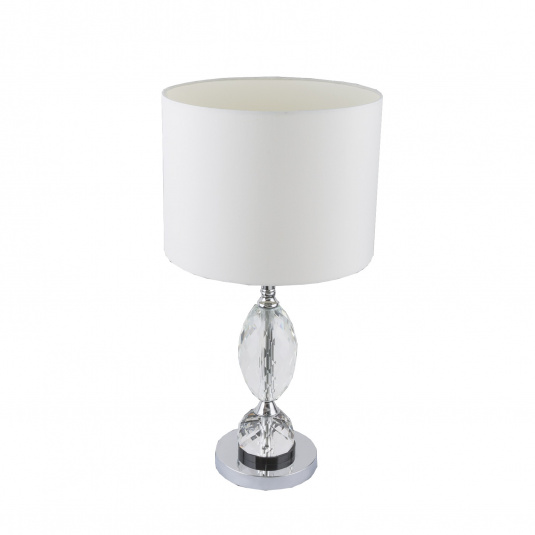 Globo Bronn Chrome Large Table Lamp